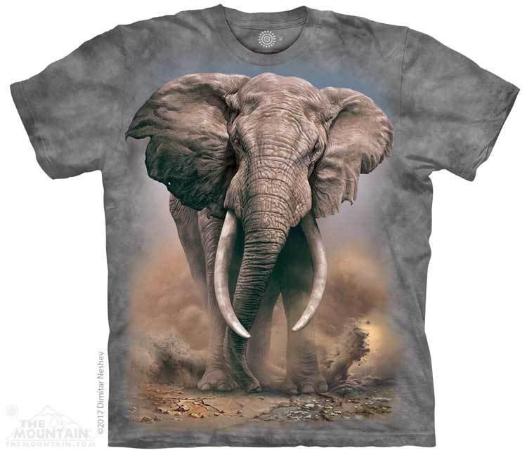 Купить The Mountain Футболка African Elephant - Африканский слон
