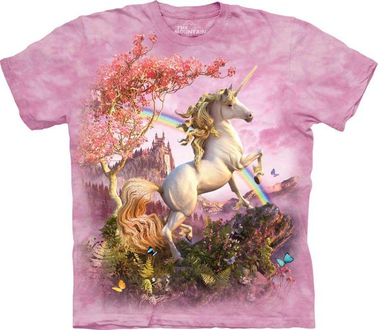 Купить The Mountain Детская футболка Awesome Unicorn - Чудесный единорог