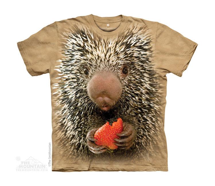 Купить The Mountain Детская футболка Baby Porcupine - Детёныш дикообраза