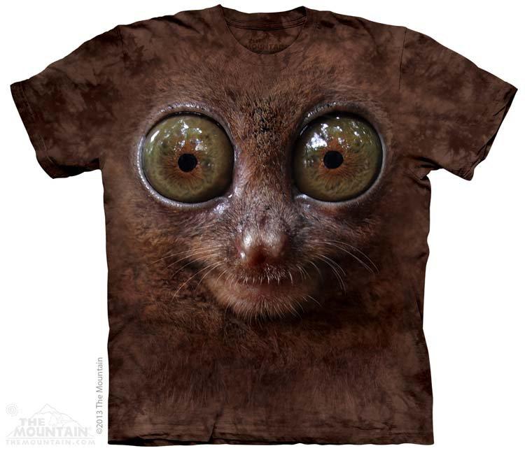 Купить The Mountain Детская футболка Big Face Tarsier - Мордочка долгопята