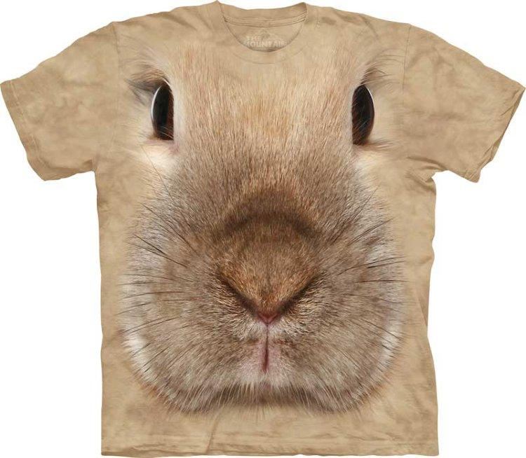 Купить The Mountain Детская футболка Bunny Face - Мордочка кролика