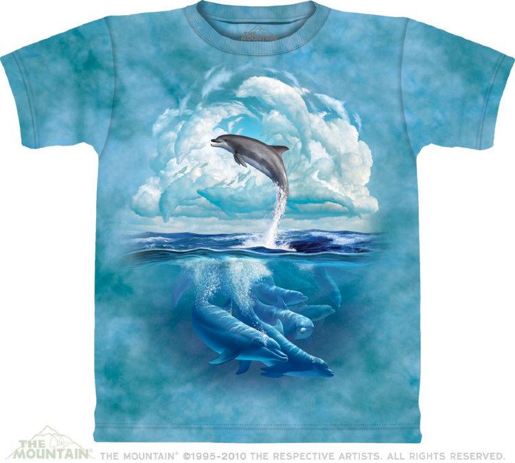 Купить The Mountain Детская футболка Dolphin Sky - Небо дельфина