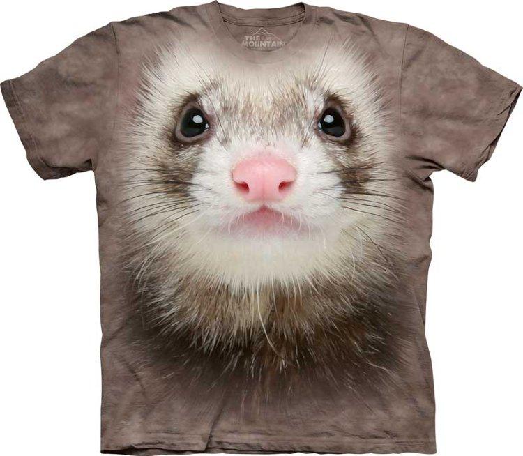Купить The Mountain Детская футболка Ferret Face - Мордочка хорька