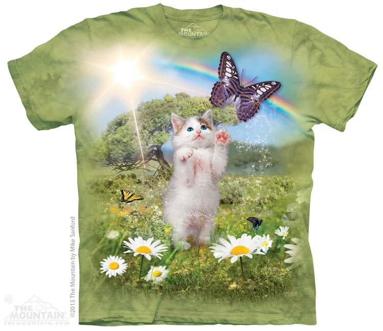 Купить The Mountain Детская футболка Kittys Dreamland - Мир грёз Котёнка
