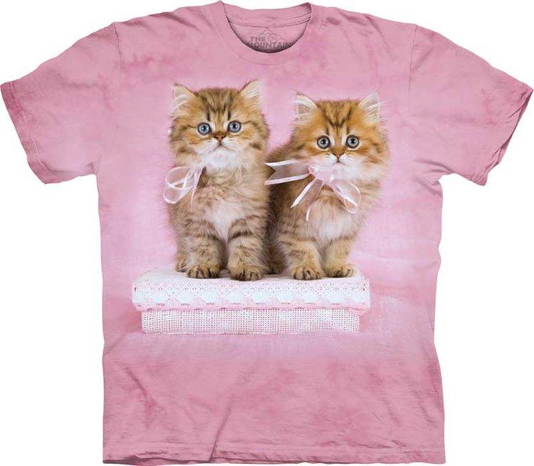 Купить The Mountain Детская футболка Pretty Kittens - Милые котята