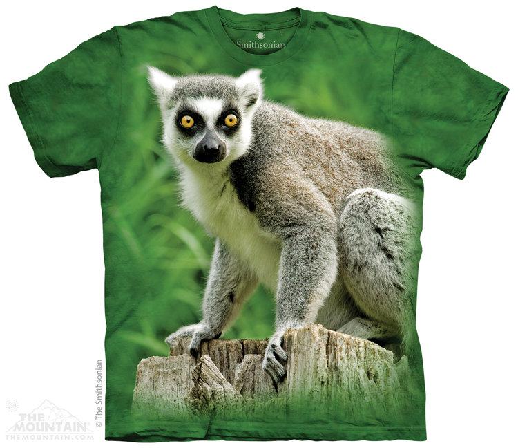 Купить The Mountain Детская футболка Ring Tailed Lemur - Кольцехвостый лемур