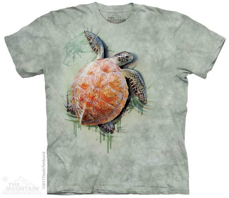 Купить The Mountain Футболка Sea Turtle Climb - Карабкающаяся черепашка