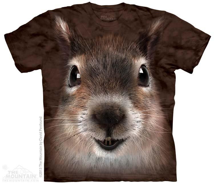 Купить The Mountain Детская футболка Squirrel Face - Мордочка белки