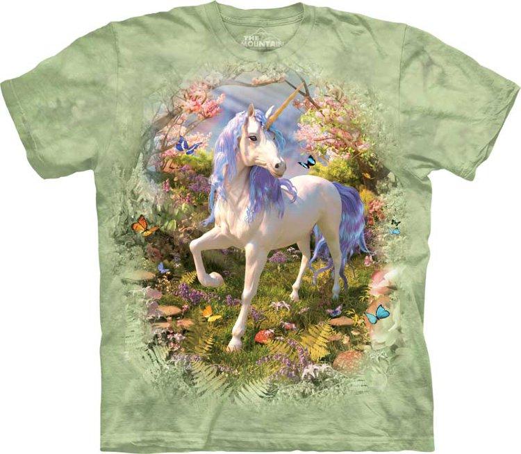 Купить The Mountain Детская футболка Unicorn Forest - Единорог в лесу