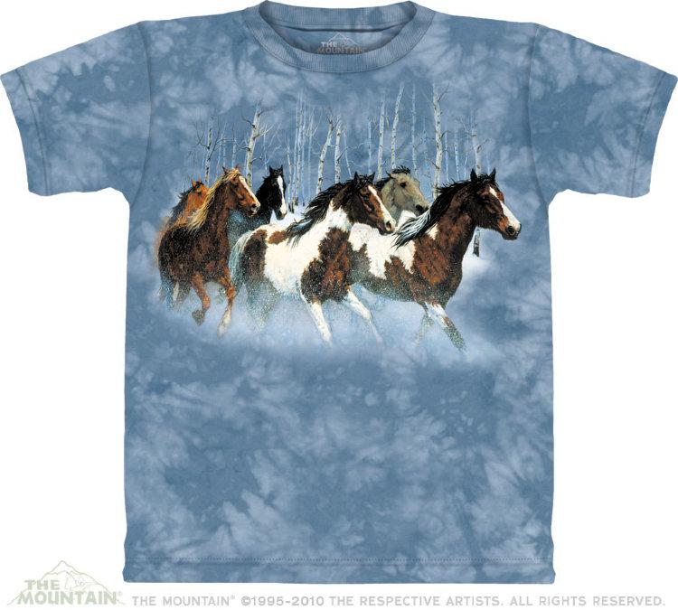 Купить The Mountain Детская футболка Winter Run - Зимний забег