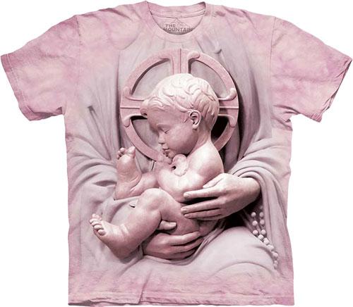 Купить The Mountain Футболка Baby Jesus - Младенец Иисус