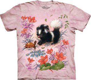 Детская футболка Baby Skunk - Маленький скунс