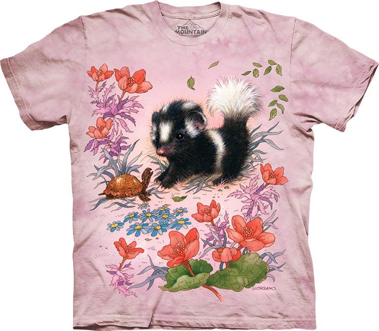 Купить The Mountain Детская футболка Baby Skunk - Маленький скунс