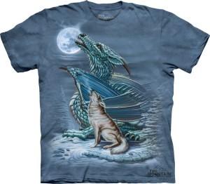 Купить The Mountain Футболка Dragon Wolf