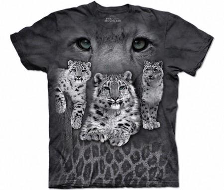 Купить The Mountain Футболка Snow Leopards - Снежный леопард (Ирбис)