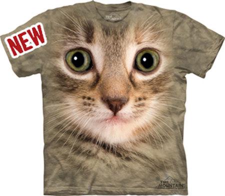 Купить The Mountain Футболка Kitten Face - Морда кошки