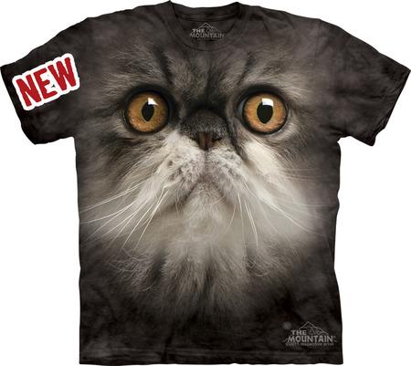 Купить The Mountain Футболка Furry Face - Морда пушистого кота