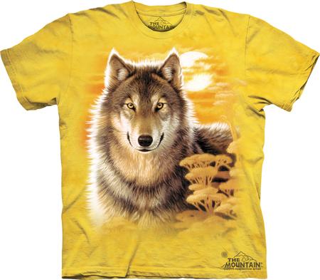 Купить The Mountain Футболка Wolf Gaze - Взгляд волка