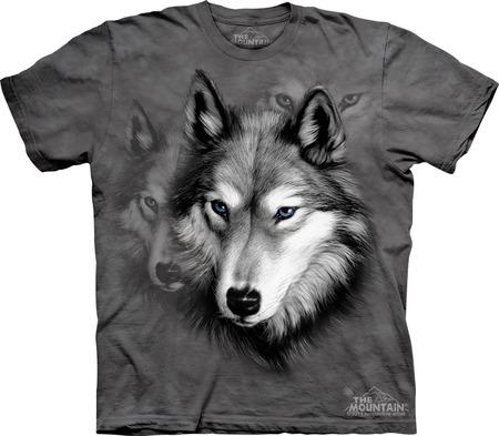 Купить The Mountain Футболка Wolf Portrait - Портрет волка