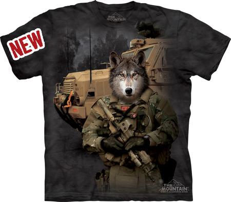Купить The Mountain Футболка JTAC Lonewolf - Одинокий волк
