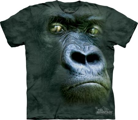 Купить The Mountain Футболка Silverback Portrait - Портрет обезьяны