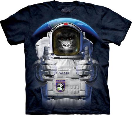 Купить The Mountain Футболка Cpace Caesar - Обезьяна космонавт