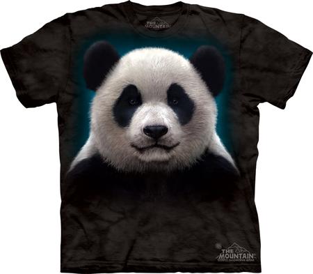 Купить The Mountain Футболка Panda Head - Морда панды