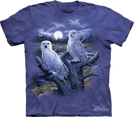 Купить The Mountain Футболка Snowy Owls - Полярные совы