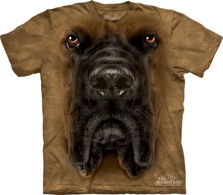 Купить The Mountain Футболка Mastiff Face - Морда мастифа