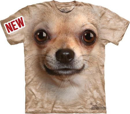 Купить The Mountain Футболка Chihuahua Face - Морда Чихуахуа