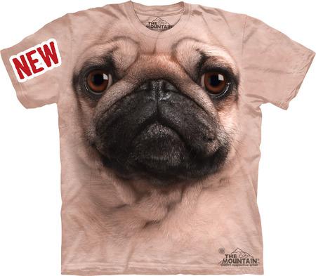 Купить The Mountain Футболка Pug Face - Морда мопса