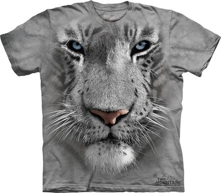 Купить The Mountain Футболка White Tiger Face - Морда белого тигра