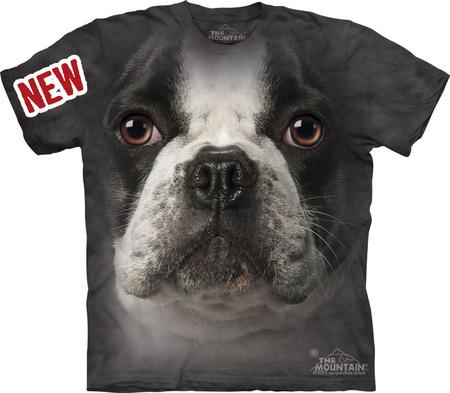 Купить The Mountain Футболка French Bulldog Face - Морда французского бульдога