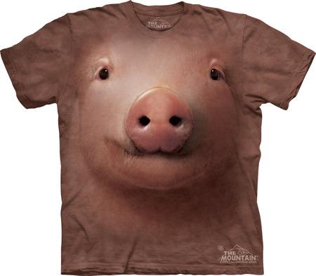 Купить The Mountain Футболка Pig Face - Морда свиньи
