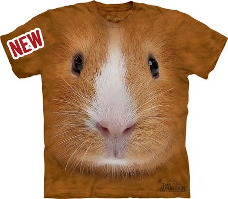 Купить The Mountain Футболка Guinea Pig Face - Морда морской свинки
