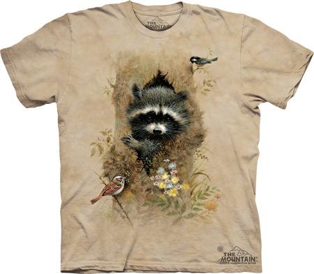 Купить The Mountain Футболка Wee Raccoon - Енотик