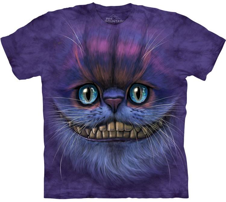 Купить The Mountain Футболка Big Face Cheshire Cat - Морда Чеширского Кота