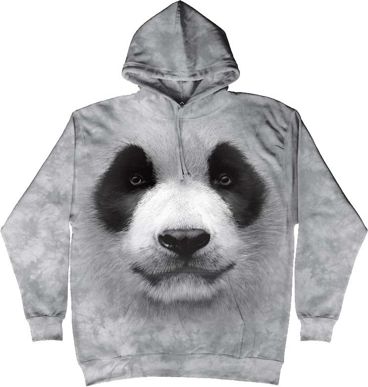 Купить The Mountain Футболка Big Face Panda - Большая панда (толстовка)