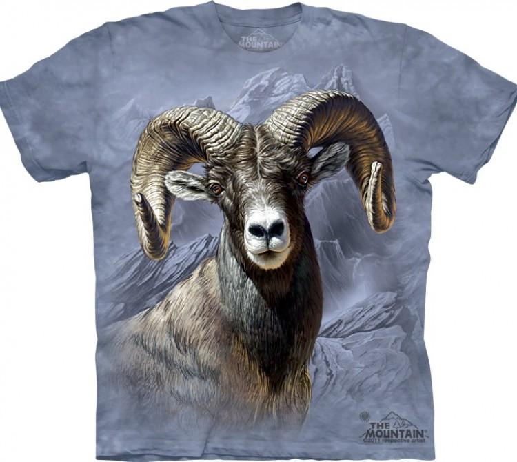 Купить The Mountain Футболка Big Horn Sheep - Толсторогий баран