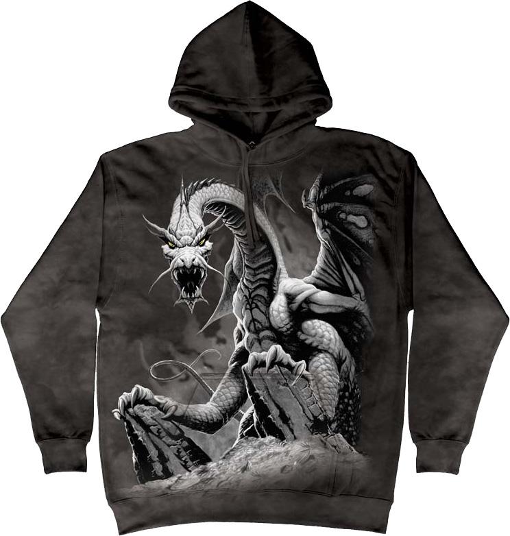 Купить The Mountain Толстовка Black Dragon - Черный дракон