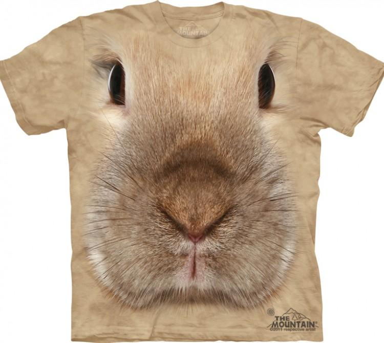 Купить The Mountain Футболка Bunny Face - Морда кролика