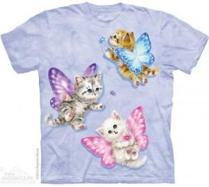 Футболка Butterfly Kitten Fairies - Сказочные котята-бабочки
