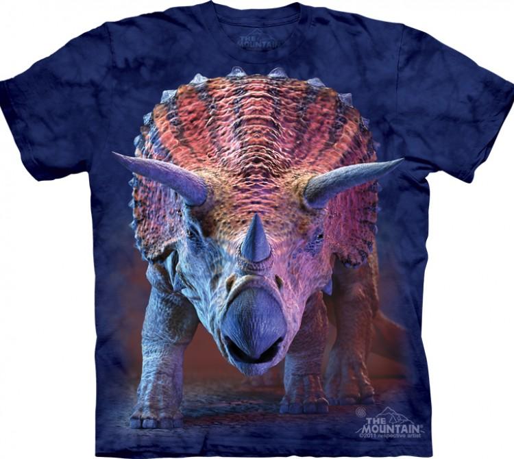Купить The Mountain Футболка Charging Triceratops - Трицератопс