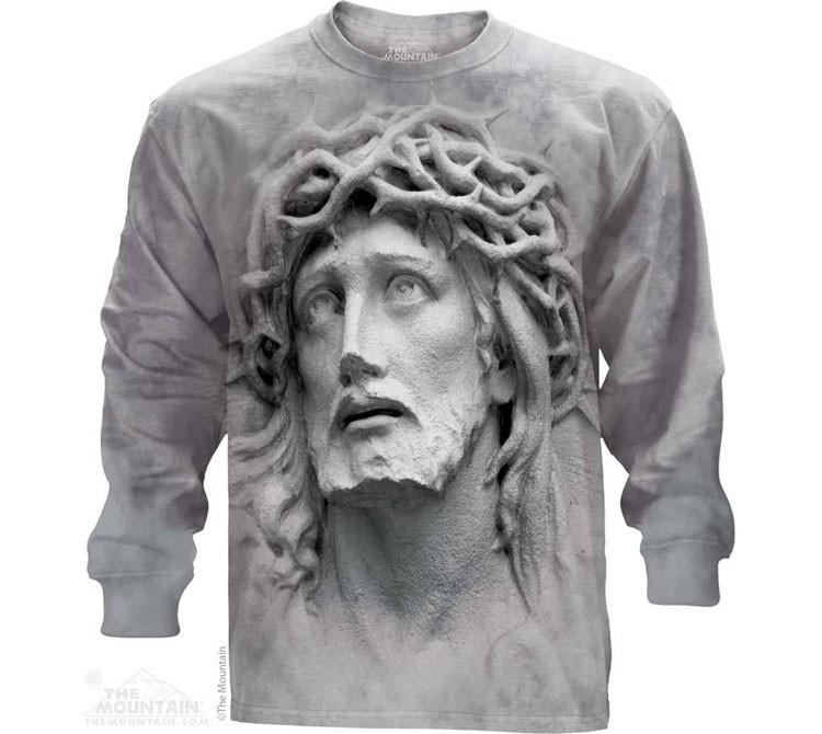 Купить The Mountain Футболка Crown of Thorns - Иисус Христос в терновом венце (длинный рукав)