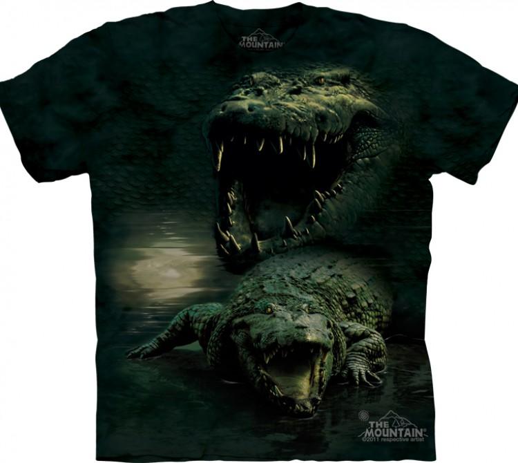 Купить The Mountain Футболка Dark Gator - Морда аллигатора