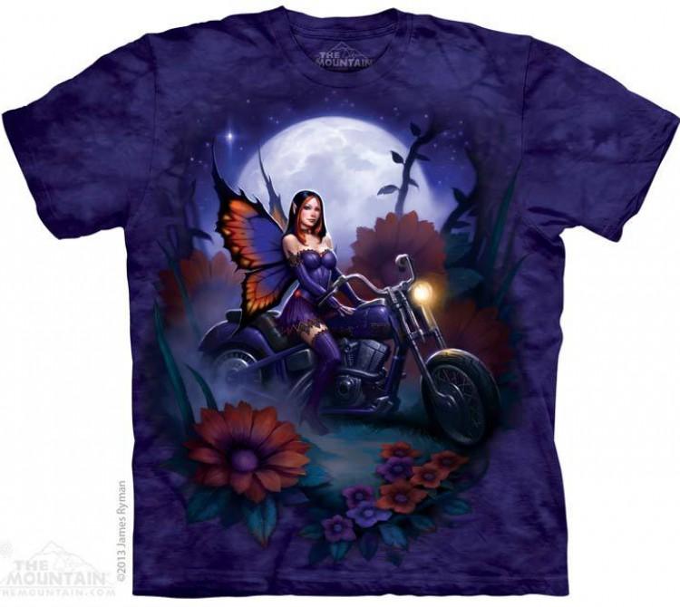 Купить The Mountain Футболка Fairy Biker - Фея байкер