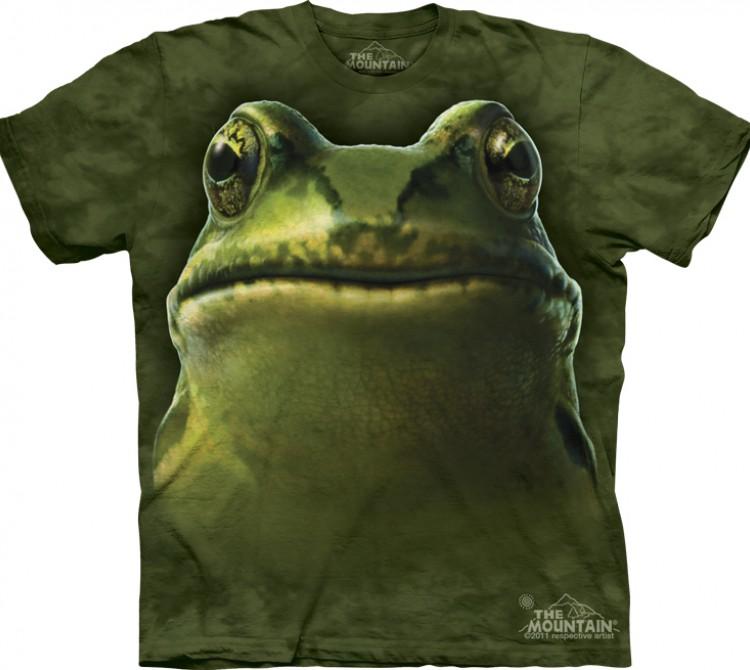 Купить The Mountain Футболка Frog Head - Морда лягушки