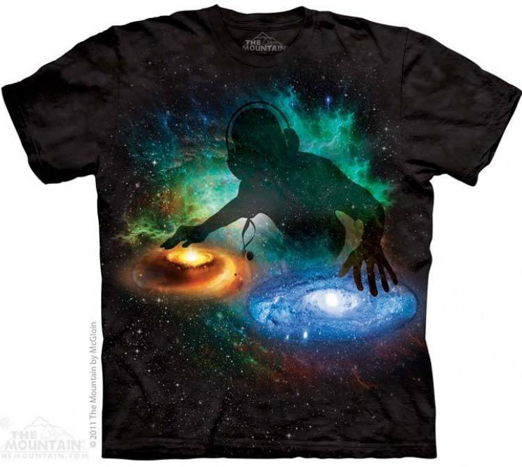 Купить The Mountain Футболка Galaxy DJ - Галактический ДиДжей
