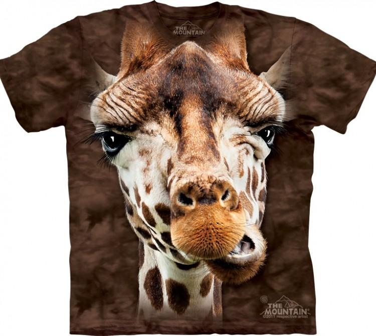Купить The Mountain Футболка Giraffe - Морда жирафа