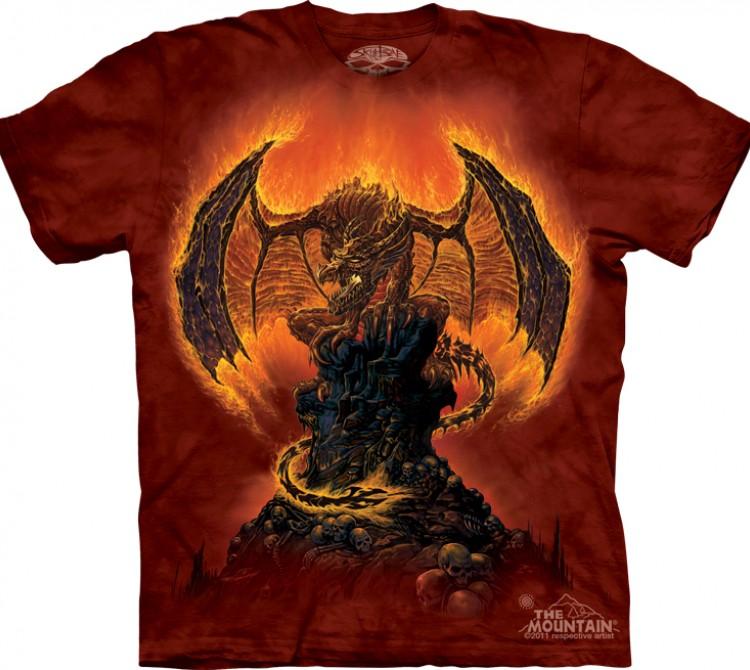 Купить The Mountain Футболка Harbinger of Fire - Дракон в огне